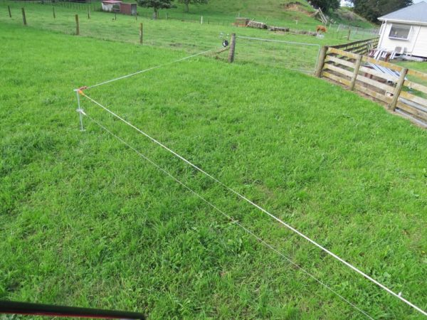 Electric Fence divider