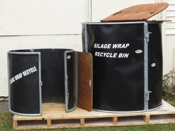 Silage Bin showing 2 sizes